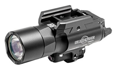X400 Ultra Weaponlight and Laser, Fits Picatinny, Black, LED 500 Lumens, Green Laser X400U-A-GN