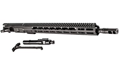 Billet Complete Upper Receiver AR15 3-Gun 5.56mm NATO 18 Inch Barrel Wedge Lock Handguard M-LOK System Slide Lock Charging Handle