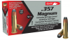 Aguila .357 Magnum 158 Semi-Jacketed Soft Point Box of 50