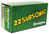 .22 Long Rifle Subsonic 38 Grain Hollow Point 50 Round Box