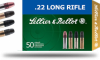 Sellier & Bellot HV HP |22LR 38gr LHP (Hollow Point) Box of 50 Rounds