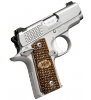 "Micro-Carry Raptor Stainless| 380ACP 2.75"" Barrel, Zebra Wood Grips, Night Sights, Ambi Safety, One 6 Round Magazine"