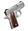 "Micro-Carry Stainless |380ACP 2.75"" Barrel, Single Action, Rosewood Grips, Aluminum Frame, 13.4oz Unloaded, 1 6-Round Magazine"