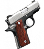 "Kimber Micro Carry CDP Two-Tone|.380ACP 2.75"" Barrel, Ambi Safety, Lightweight Aluminum Frame, One 6 Round Magazine, Soft Case"