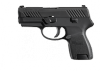 P320 Sub Compact Striker 9mm 3.6 Inch Barrel Siglite Night Sights Black Nitron Slide Finish 12 Round