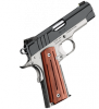 "Pro Aegis II 1911 |9mm 4"" Barrel, Matte Black Slide, Alloy Frame, Night Sights, Thin Fluted Rosewood Grips, One 9 Round Magazine"