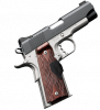 "Crimson Carry Pro II (Green Laser) 1911 |45ACP 4"" Barrel, Matte Black Slide, Alloy Frame, Fixed Sights, Rosewood Crimson Trace Laser Grips (Green), One 7 Round Magazine"