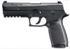 "P320 Fullsize |9MM 4.7"" Barrel, Striker-Fired, Black w/ Night Sights, Includes Holster, Two 17 Round Magazines"