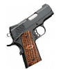 "Ultra Raptor II 1911 |45ACP 3"" Barrel, Matte Black Slide, Alloy Frame, Night Sights, Ambi Safety, Zebra Wood Scale Pattern Grips, One 7 Round Magazine"