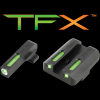 Brite-Site TFX Sights for Springfield XD/XDM Excluding 5.25 Inch Comp Series/XDS Green Rear/Green With Focus Lock Front